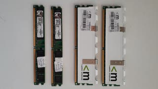 Kit Memoria RAM DDR2 4×2gb 800Mhz