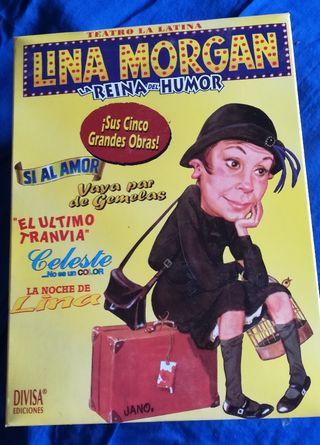 Colección Lina Morgan. VHS.
