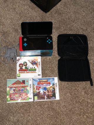 Nintendo 2DS XL bundle