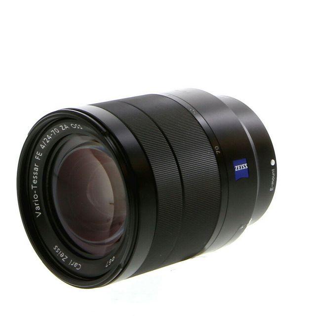 objetivo Sony Carl Zeiss 24-70mm F.4 estabilizado