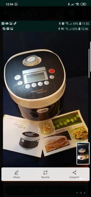 Robot de cocina new cook master 3D