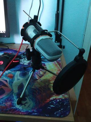 micrófono multiplataforma