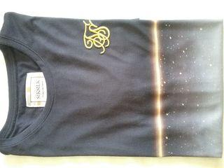 The SikSilK S/S Gold Fleck. Camiseta. NUEVA.