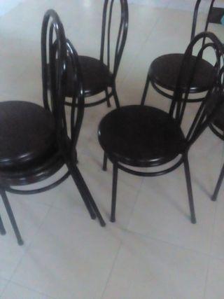 Sillas metal bar Restaurante