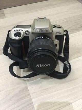 Cámara fotos nikon f60