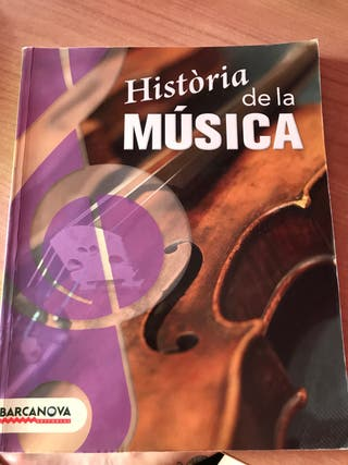 Libro historia de la música