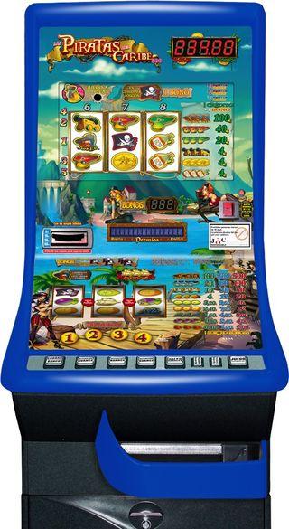Máquina recreativa PIRATAS DEL CARIBE 500, Cirsa