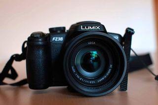 Panasonic Lumix FZ38. Objetivo Leica
