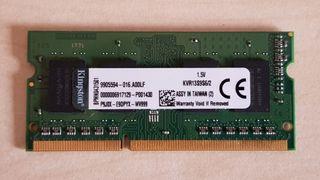 Memoria RAM Kingston 2 GB DDR3 SODIMM