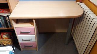 Mesa escritorio niña y silla