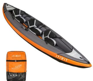 Kayak inflable 3 personas (decathlon)