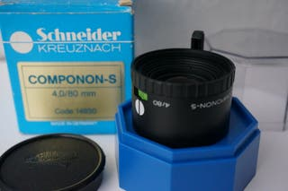 Objetivo de ampliadora Schneider Componon-S 80/4