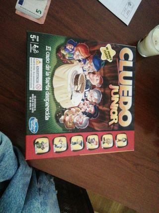 juego de mesa CLUEDO Junior