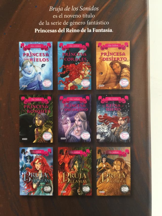 Libros Princesas del Reino de la fantasía