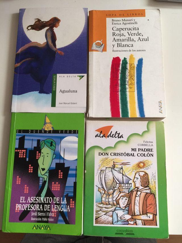 Libros de lectura escolares