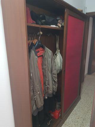 armario zapatero de madera