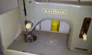 Máquina coser Wertheim con motor