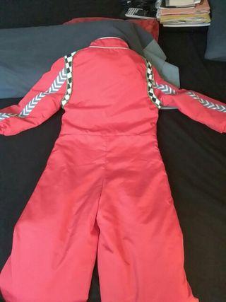 Disfraz Disney niño Radio McQueen. Talla 5/6 años.