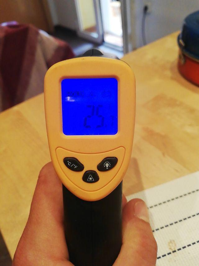 termómetro infrarojos digital