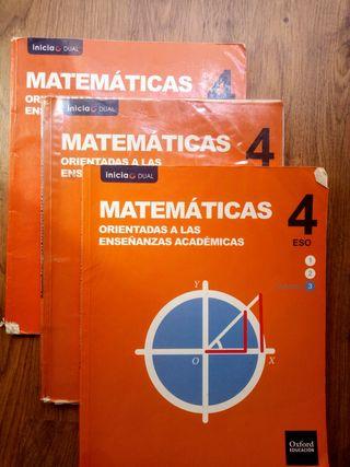 Matemáticas, 4° ESO