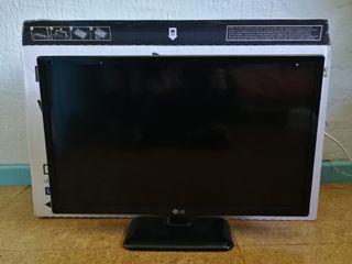 Monitor LG de 24 pulgadas, tecnología Led