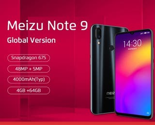 Meizu note 9 (negociable)