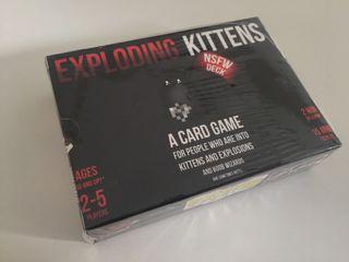 Exploding Kittens NSFW Edition - Juego de cartas