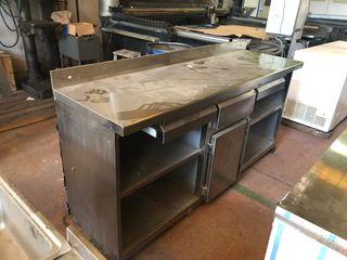 Hosteleria mobiliario mueble inox cafetera