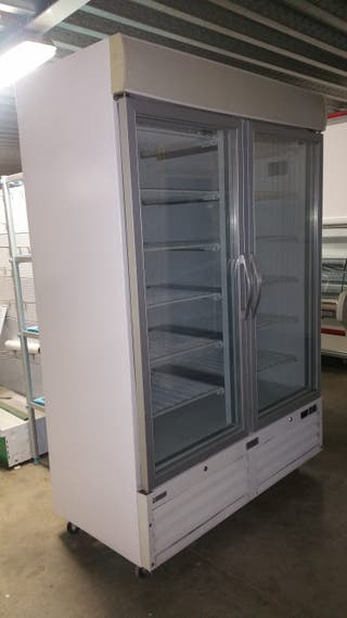 armario congelacion edesa doble puerta cristal
