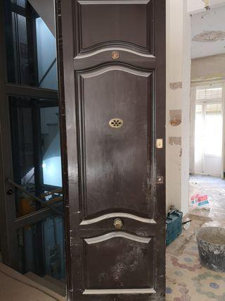 09 Puerta ventana mobila madera antigua entrada
