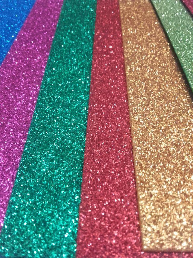 Goma Eva - Foami Glitter