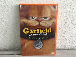 Garfield La Película DVD