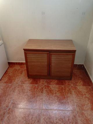 armario de madera