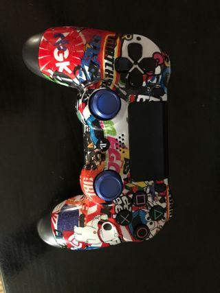 Mando PS4 original con carcasa personalizada