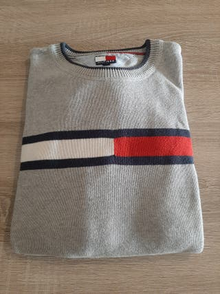Jersey gris Tommy Hilfiger