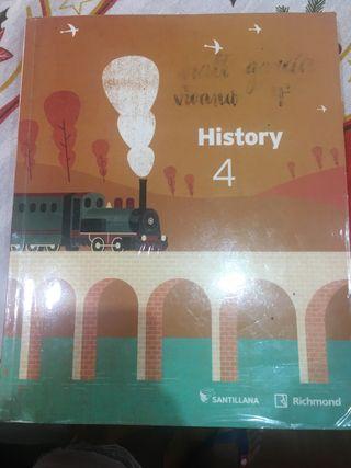 Libro de historia en inglés 4 eso