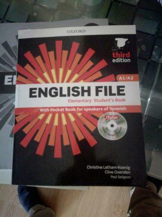 English file A1/A 2 €