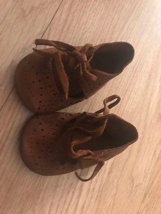Zapato bebé niña zara.Talla 15-16