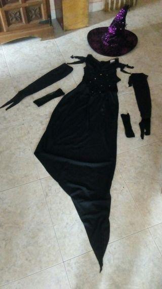 ¡¡HALLOWEEN!! disfraz de bruja completo