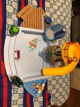 Piscina Playmobil 4858