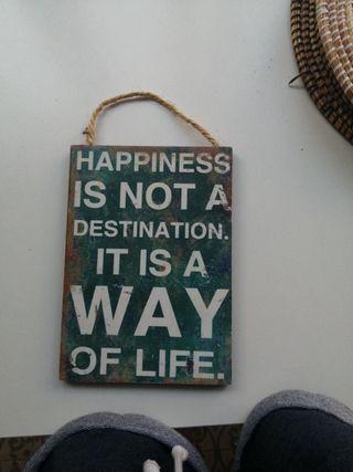 "cartel Natura ""Happiness"""