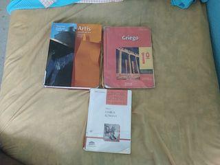 Libros 2° Bachillerato Humanidades