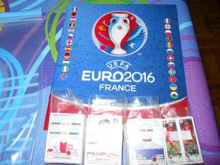 COLECCION COMPLETA EURO 2016 FRANCIA PANINI ( 680