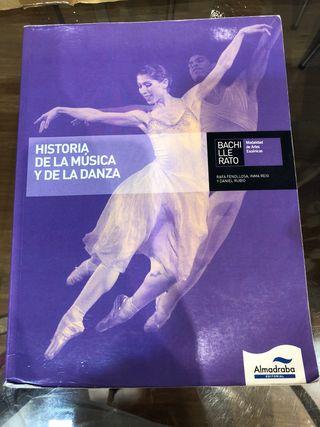 Libro historia de la música y de la danza