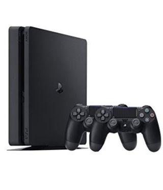 PS4 + 2 mandos inalámbricos+ juego Crash Bradicoot