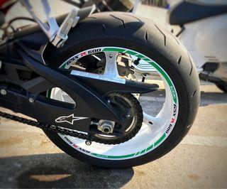 Vinilos adhesivos llanta moto Suzuki Gsx R 600