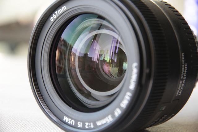 objetivo Canon EF 35mm 1:2 IS USM