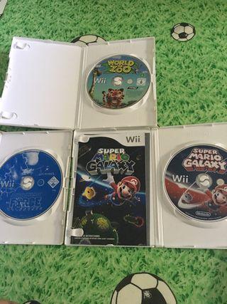 Lote de juegos de Wii y wiiu