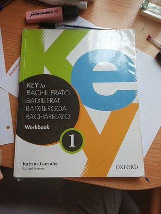 Libro inglés Workbook 1°bach