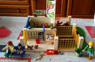 clinica veterinaria playmobil